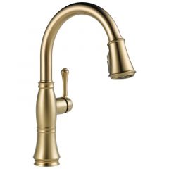 Delta - Cassidy Single Lever Handle Pulldown Kitchen Faucet