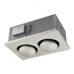 Nutone - Heaters 250 Watt Double Bulb Heater