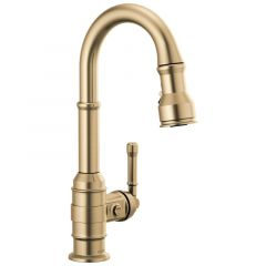 Delta - Broderick Single Handle Pull-Down Bar/Prep Faucet