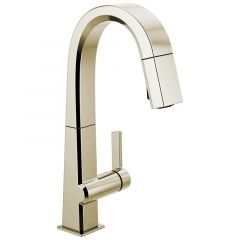 Delta - Pivotal Single Handle Pull Down Bar/Prep Faucet