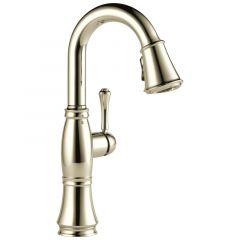 Delta - Cassidy Single Lever Handle Pulldown Bar/Prep Faucet