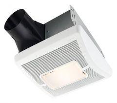 Broan - InVent Series Single-Speed 110 CFM - 1.3 Sones Fan/Light