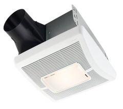 Broan - InVent Series Single-Speed 50 CFM - 1.5 Sones Fan/Light