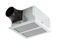 Broan - InVent Series Heavy Duty with Metal Grille 80 CFM - 2.0 Sones Single-Speed Bathroom Fan