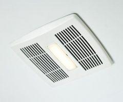 Broan - InVent Series Single-Speed 110 CFM - 1.3 Sones LED Fan/Light