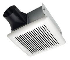 Broan - InVent Series Single-Speed Fan 50 CFM - 0.5 Sones Bathroom Fan
