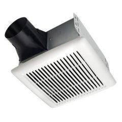 Broan - InVent Series Single-Speed Fan 80 CFM - 0.8 Sones Bathroom Fan