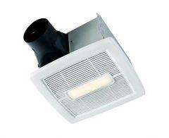 NuTone - InVent Series Single-Speed 110 CFM - 1.3 Sones LED Fan/Light
