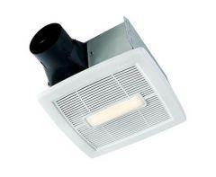 NuTone - InVent Series Single-Speed 80 CFM - 1.5 Sones LED Fan/Light