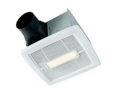 NuTone - InVent Series Single-Speed 80 CFM - 0.8 Sones LED Fan/Light
