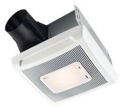 NuTone - InVent Series Single-Speed Fan Light 70 CFM - 2.0 Sones Bathroom Fan/Light