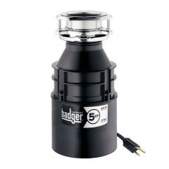 ISE - Badger Series - Garbage Disposer 3/4 H.P. Household Disposal With Cord