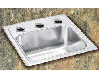 Elkay Sink - Lustertone Series Single Bowl - Stainless Steel Hospitality / Bar Sink