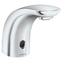 Moen - Commercial Electronic Sensor Below-Deck  Transitional Style Bathroom Faucet