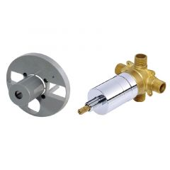 Danze - Opulence Series Trim Only 4-Port Shower Diverter and Volume Control Valve