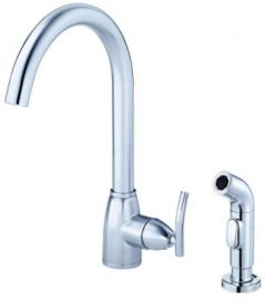 Danze - Sonora Series Kitchen Faucet Single Handle With Spray