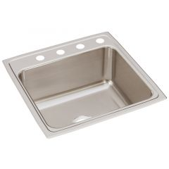 Elkay - Lustertone Classic 22in x 22in x 10-1/8in Single Bowl Drop-in Sink