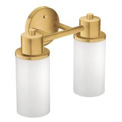 Moen - Iso Series Two-Bulb Globe Bath Light