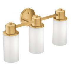 Moen - Iso Series Three-Bulb Globe Bath Light