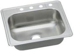 Dayton - Kitchen Sink Single Bowl Stainless Steel Top Mount Sink
