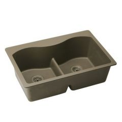 Elkay - Harmony e-granite Sink Double bowl Top Mount