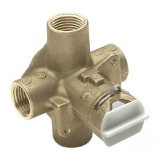 Moen - Rough-in Posi-Temp pressure balancing cycling valve with pre-installed flush plug