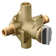 """Moen - M-Pact Posi-Temp 1/2"""" Cold Expansion PEX Inlets/CC Outlets Connection Pressure Balancing Valve"""