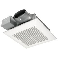 Panasonic - WhisperValue DC fan - Pick-A-Flow Airflow Selector with Condensation Sensor