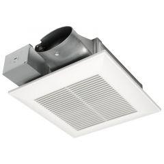 Panasonic - WhisperValue DC Fan - Pick-A-Flow Airflow Selector 80 or 100 CFM with ECM Motor