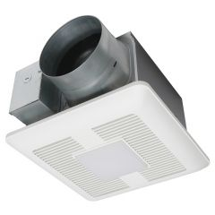 Panasonic - WhisperCeiling DC Fan with LED light - Pick-A-Flow  Airflow Selector 110 - 130 - 150 CFM