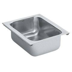 Moen - Sinks 18 Gauge Single Bowl Sink 1800 Series Stainless Steel