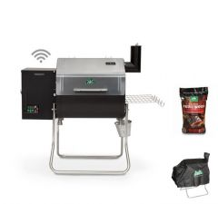 DCWF - Green Mountain Grills - Bundle 1 - Davy Crockett Grill - Cover and Pellets