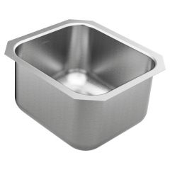 Moen - 1800 Series - 16.5x18.25x10 Stainless Steel 18-Gauge Undermount Single Bowl Sink