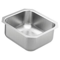 Moen - 1800 Series - 16.5x18.25x8 Stainless Steel 18-Gauge Undermount Single Bowl Sink