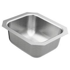 Moen - 1800 Series 14-1/2in x 12-1/2in Stainless Steel 18-Gauge Single Bowl Sink