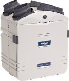 Broan - Air Systems w/ Heat Recovery HEPA Filtration Unit