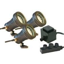 Savio - Radiance - LED - 3 Light Kit with Transformer- KRAD001