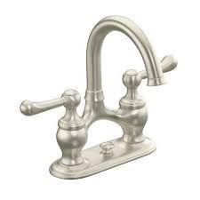 """Lyntier - Lavatory faucet with 4"""" centers and lever handles"""