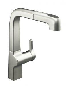 Kohler - Evoke Series Kitchen Faucet Single Handle - Pull out