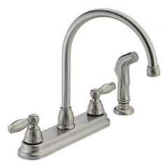 Peerless - Apex Series Kitchen Faucet with Side Spray Two Handle