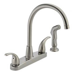 Peerless - Choice Series Kitchen Faucet with Side Spray Two Handle
