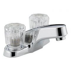 Peerless - Choice Series Bathroom Faucet Two Handle Acrylic