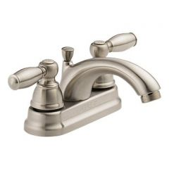 Peerless - Apex Series Bathroom Faucet with Pop-up Drain Two Handle C Spout