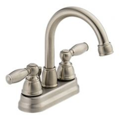 Peerless - Apex Series Bathroom Faucet with Pop-up Drain Two Handle Neo Spout