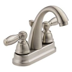 Peerless - Apex Series Bathroom Faucet with Pop-up Drain Two Handle J Spout