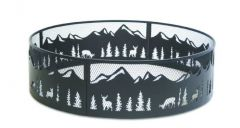 18643 - Pilgrim Nature Fire Ring -  High Temp - Matte Black