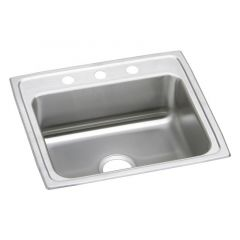 Elkay - Celebrity Stainless Steel 25in x 22in x 7-1/2in - Single Bowl Drop-in Sink