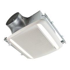 Broan - ULTRA PRO Series 110 CFM Ventilation Fan/LED Light - 0.8 Sones ENERGY STAR Certified