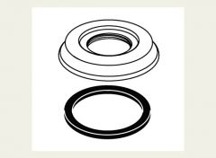 Delta - Cassidy handle Base and gaskets