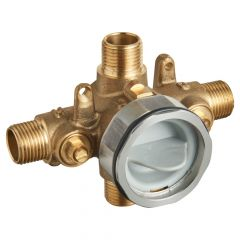 American Standard - Flash Pressure Balance Rough-in Valve With Universal Connections With Screwdriver Stops